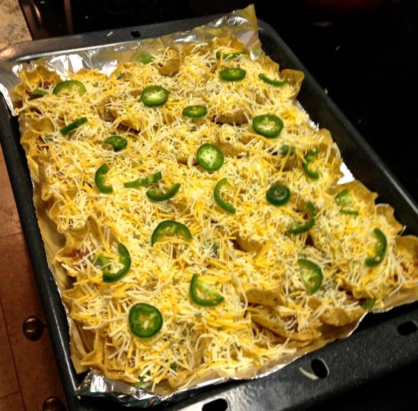 nachos before