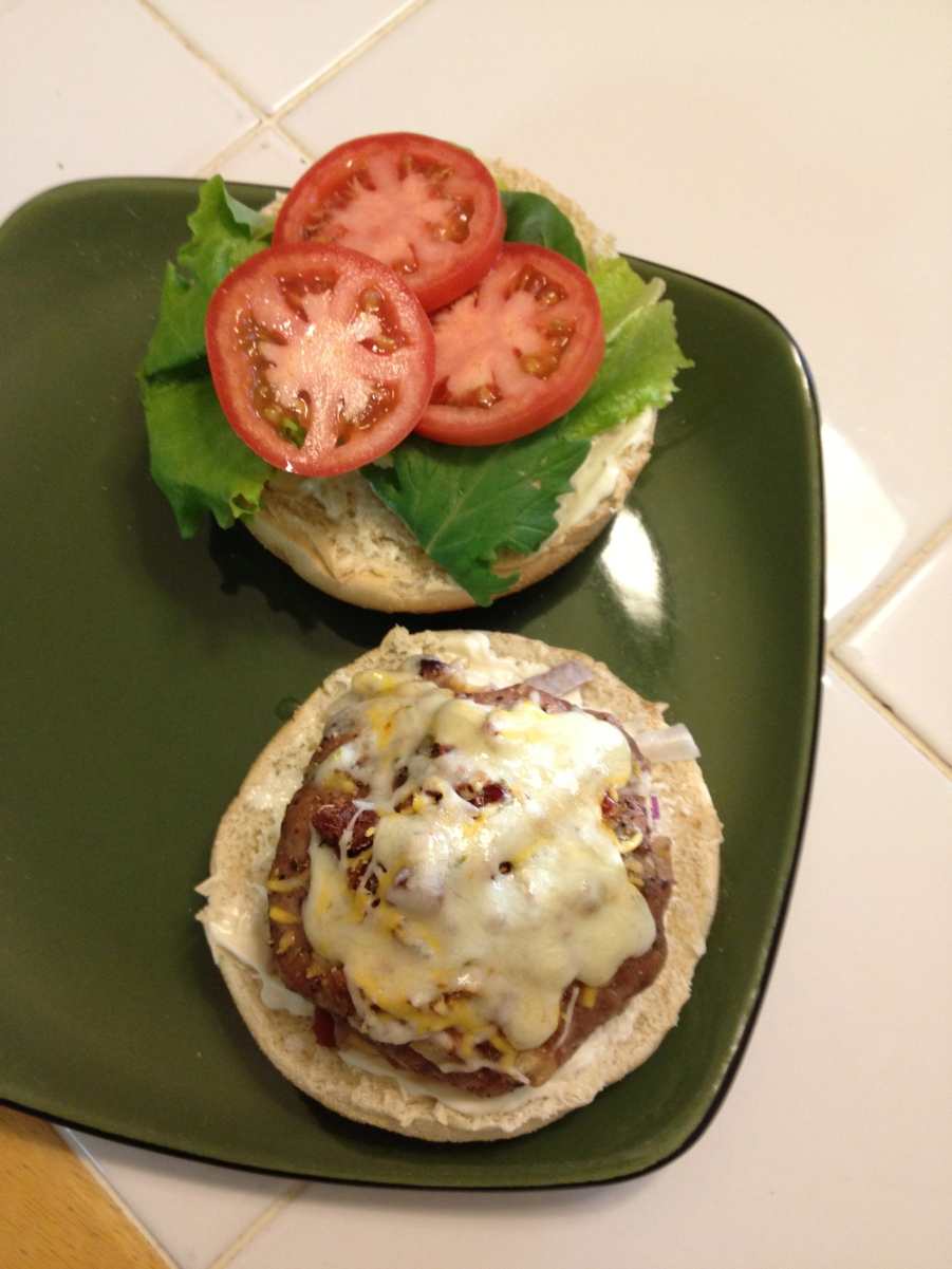 Baked Turkey Burgers