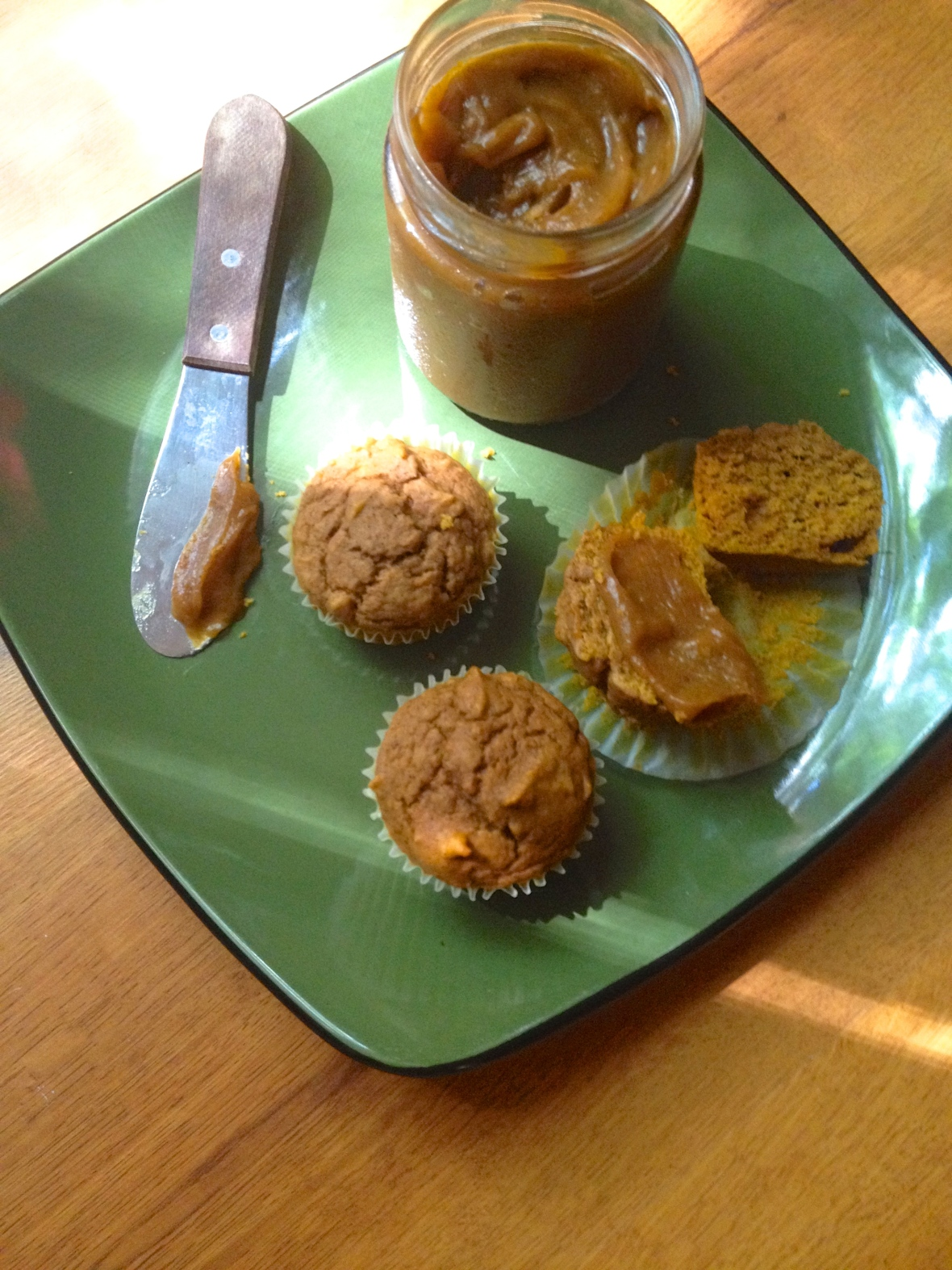 Pumpkin Muffs and Pumpkin Butter